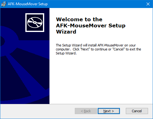 AFK-MouseMover installation process, 1